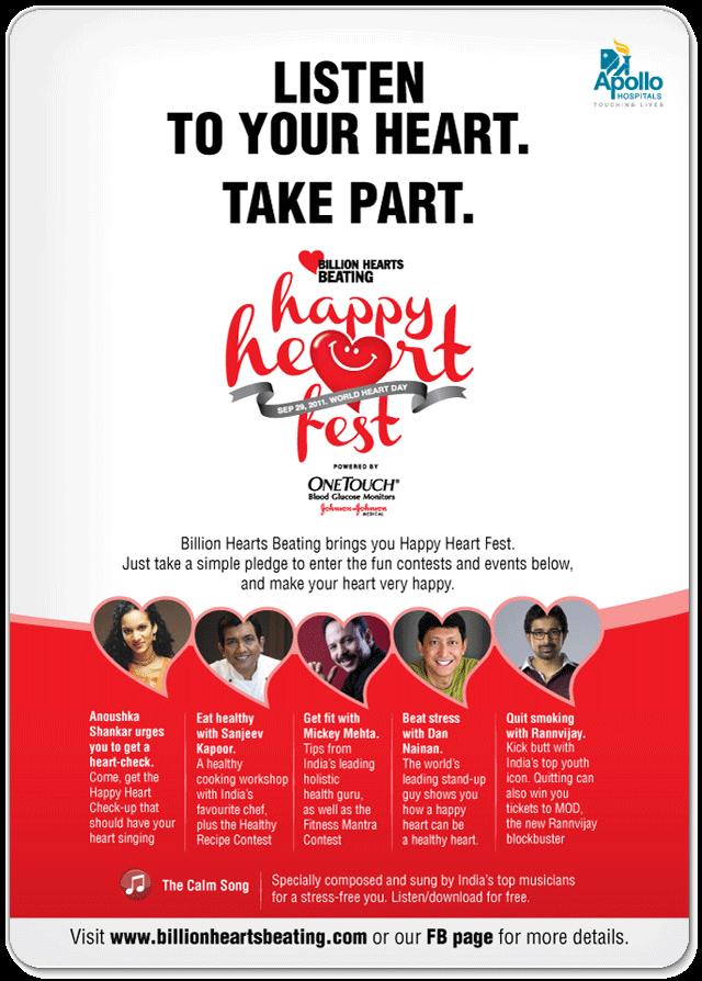 Happy Heart Fest - World Heart Day