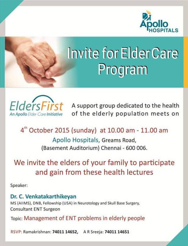 Events Elderly