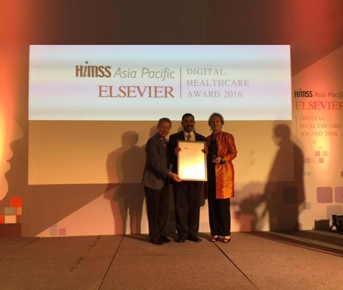 HIMSS - Elsevier Outstanding ICT Innovation Award 2016