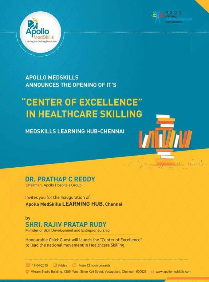 Inauguration of Medskills learning Hub at Chennai
