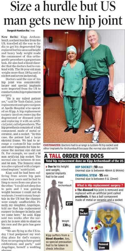 Apollo Orthopaedic Patient Testimonial